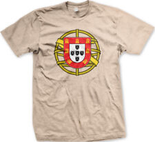 Portugal Coat of Arms Shield Sphere Portuguese Symbol PRT Men/'s V-Neck Sport Tee