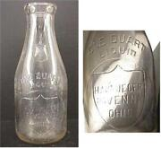 Ohio Milk Bottle