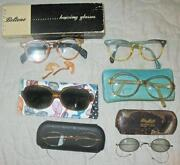 Antique Eyeglasses Lot