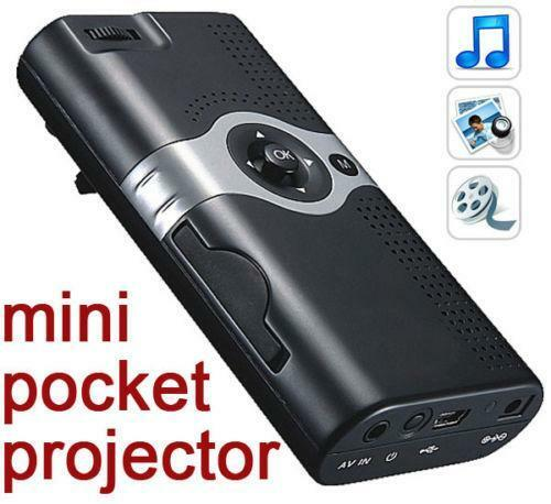 Pocket projector ebay for Miroir mp60 projector