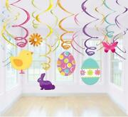 Hanging Swirl Party Decorations