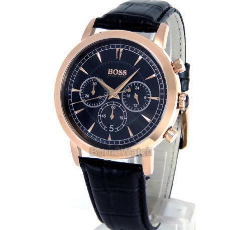 hugo boss watch hugo boss rose gold watch