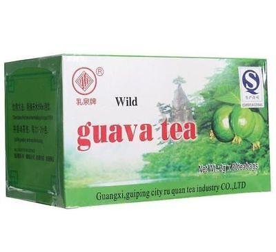 1 Box Wild Guava Leaf Tea Bag Herb Tea Diabetic Drink Control Blood Sugar Leve ^