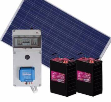 LOW-COST-COMPLETE-12V-SOLAR-PANEL-POWER-KIT-Off-Grid-stand-alone