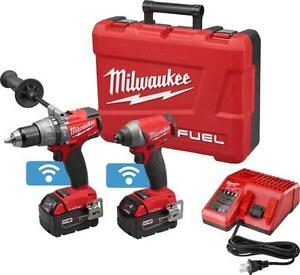 Milwaukee M18 FUEL™ 2-Tool Combo Hammer Drill Kit with ONE-KEY™