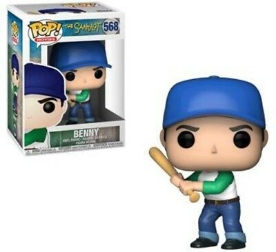 FUNKO POP! MOVIES: The Sandlot - Benny [New Toy] Vinyl Figure