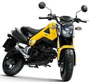 Honda 125cc Motorbike