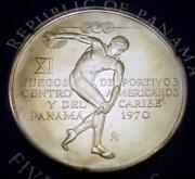 1970 Panama 5 Balboas