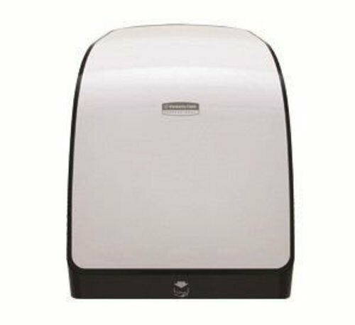 Kimberly-Clark 34367 White Mod Mechanical Hrt Roll Towel Dispenser