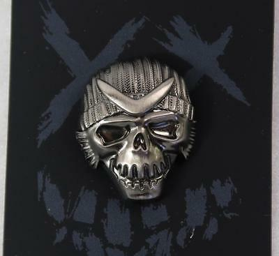 Boomerang Suicide Squad Excellent Lapel Pin New Fine Pewter BEAUTY