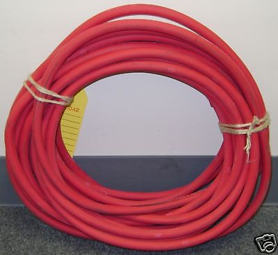 50 Foot Of Red 10 Direct Flex-a-prene Welding Battery Cable Made In Usa