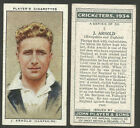 1934 Season Cricket Trading Cards