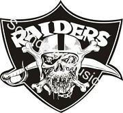 Oakland Raiders Stickers