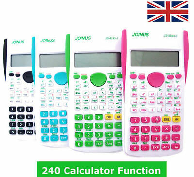 Function scientific calculator with 240 calculation functions