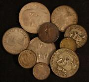 Foreign Silver Coin Lot