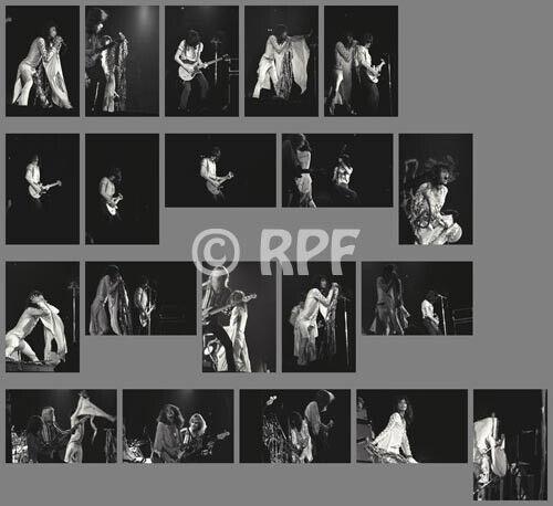 Aerosmith 75/06/19 photo SET, 20 photos 4x6 - LOS ANGELES