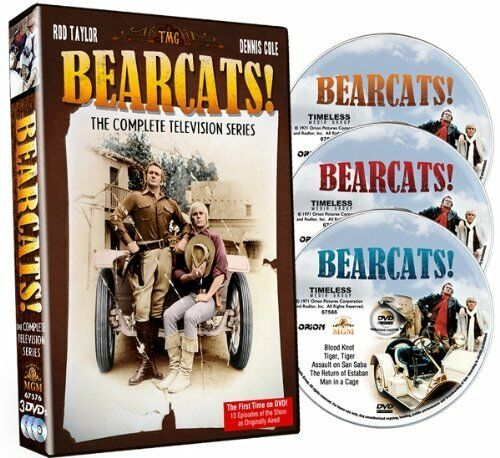 BEARCATS (1971 Rod Taylor) COMPLETE SERIES  - DVD - Sealed Region 1