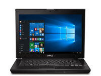 Dell E6410 Laptop Intel i7 Windows 10