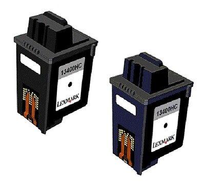 13400hc Tinte (2 x Tinte für Samsung Fax SF3000 SF3100 SF3200 wie 13400HC 15M0640 Patronen)