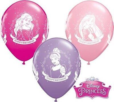 cess Happy Birthday Latex Balloons Ideal Party Decoration (Disney Princess Happy Birthday)