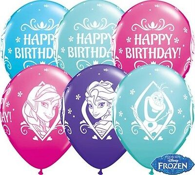 25 x Frozen Anna Elsa Olaf Party Decoration Happy Birthday 11