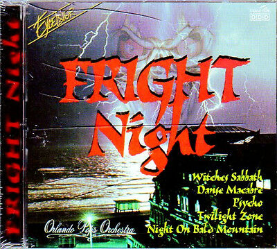 Excelsior FRIGHT NIGHT: RARE 1996 CREEPY CLASSICAL HALLOWEEN MUSIC & SOUNDS! OOP - Creepy Halloween Music