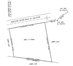 1.88 acres of commercial land for sale in Goose Bay, NL.