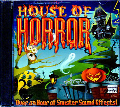 Halloween-sounds, Horror Musik (The Original HOUSE OF HORROR: HORRIFYING HAUNTED HOUSE HALLOWEEN SOUNDS CD! NEW!)