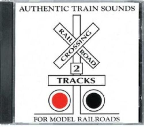 Authentic Train Sounds CD - For Model Railroads and Rail Fans