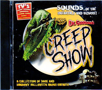 Dr. Goodsound's HALLOWEEN CREEP SHOW TWISTED CIRCUS SCARY CARNIVAL MUSIC & - Scary Halloween Rock Music