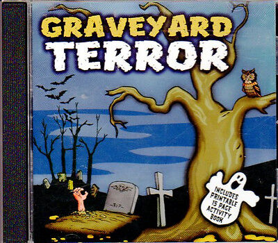Halloween Graveyard Sound Effects (GRAVEYARD TERROR: SPOOKY HALLOWEEN HORROR SOUND EFFECTS FOR A HAUNTED)