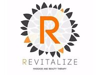 Revitalize Massage and Beauty Treatments