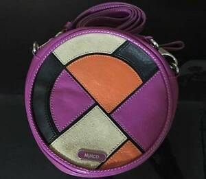 MIMCO LADIES CIRCLE HIP ACROSS BODY HAND BAG RRP $249 Haymarket Inner Sydney Preview