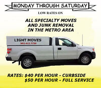 ●●● DELIVERY FOR LESS ●●● RELIABLE AND EFFICIENT $40 PER HOUR