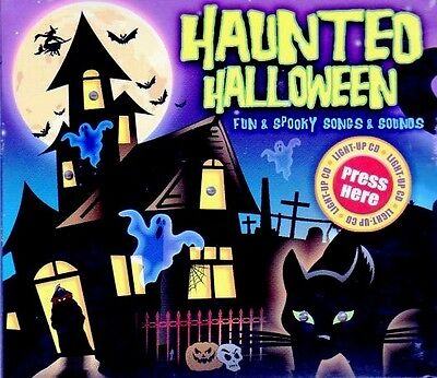 HAUNTED HALLOWEEN: 1 HOUR OF HAUNTING FUN: SPOOKY SONGS & SOUNDS PARTY CD (2008)