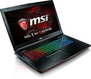 MSI Apache Pro w/ Core i7-6700HQ, 16GB, 256GB SSD + 1TB, 17.3in