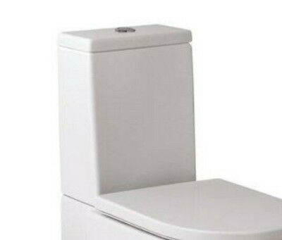 Roca 'Happening' Close Coupled Toilet CISTERN ONLY Dual Flush 6/3 Litre, White Close Coupled Toilet Cistern