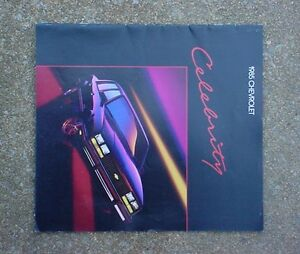 GM-85-CHEVROLET-CELEBRITY-DEALER-SHOWROOM-SALES-BROCHURE-CHEVY-EUROSPORT