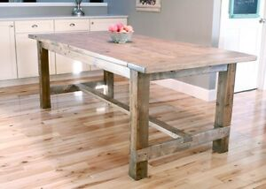 •• WoodWorth Farm Table ••