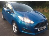 2014 FORD FIESTA Zetec 1.0 Ecoboost Petrol Excellent Condition'