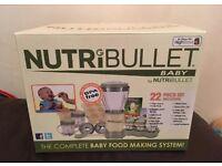 Nutribullet Baby Blender, new in box
