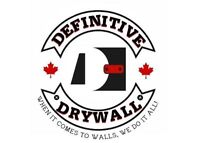 Definitive Drywall/ Crack Fill & Paint) Free Estimates 292-3662