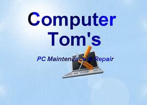 Computer Tom's PC Maintenance & Repair