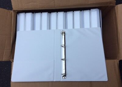 Lot Of 22 A4 European 1 D-ring Clearview Binders For A4 Sheet Size