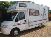 Wanted motorhome camper any year or condition left or right hand drive top cash prices paid