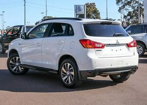 2015 Mitsubishi ASX XB MY15.5 LS 2WD White 6 Speed Constant Variable Wagon Cannington Canning Area Preview