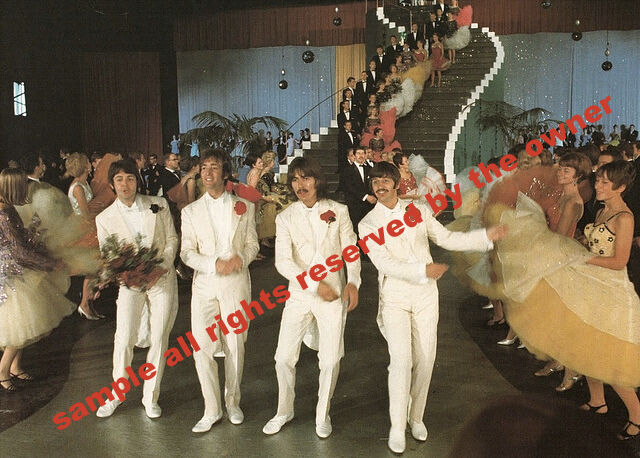 THE BEATLES GROUP 1967 PERIOD PHOTOS. 5 BY 7 WITH STANDARD WHITE BOARDERS