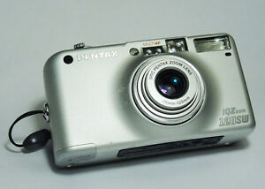 Pentax IQZoom 120SW 35mm Point & Shoot Film Camera