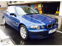 BMW 3 Series 1.8 316ti SE Compact 3dr / Low low mileage and perfect condition.