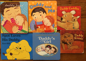 DADDY AND ME board books $3 each or all 6 for $15